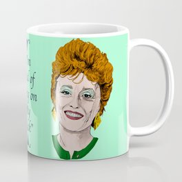 Blanche Devereaux from The Golden Girls (Green) Coffee Mug