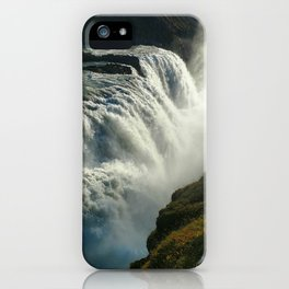 Gullfoss, Iceland iPhone Case