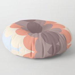 Gradual Blue Retro Floor Pillow