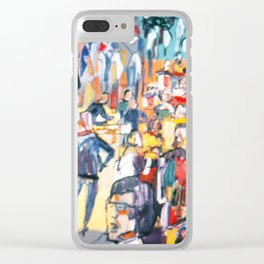 CONFERENCE          by Kay Lipton Clear iPhone Case