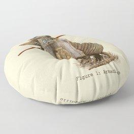 Armadillo (option) Floor Pillow