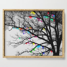 The Wishing Tree II, Color Bleed Serving Tray