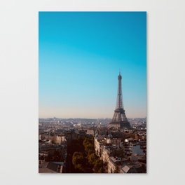 Eiffel Tower, September 2018 Canvas Print