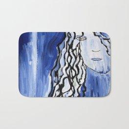 Blue Girl Bath Mat