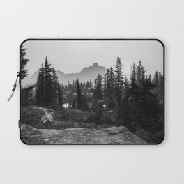 Black and White Hiking Laptop Sleeve