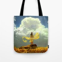 wind Tote Bags featuring Wind by Artem Rhads Cheboha