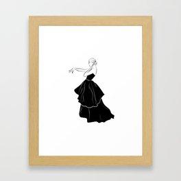 Bettina Graziani Fashion Illustration Framed Art Print