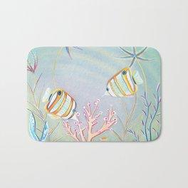 Butterfly Fish Bath Mat