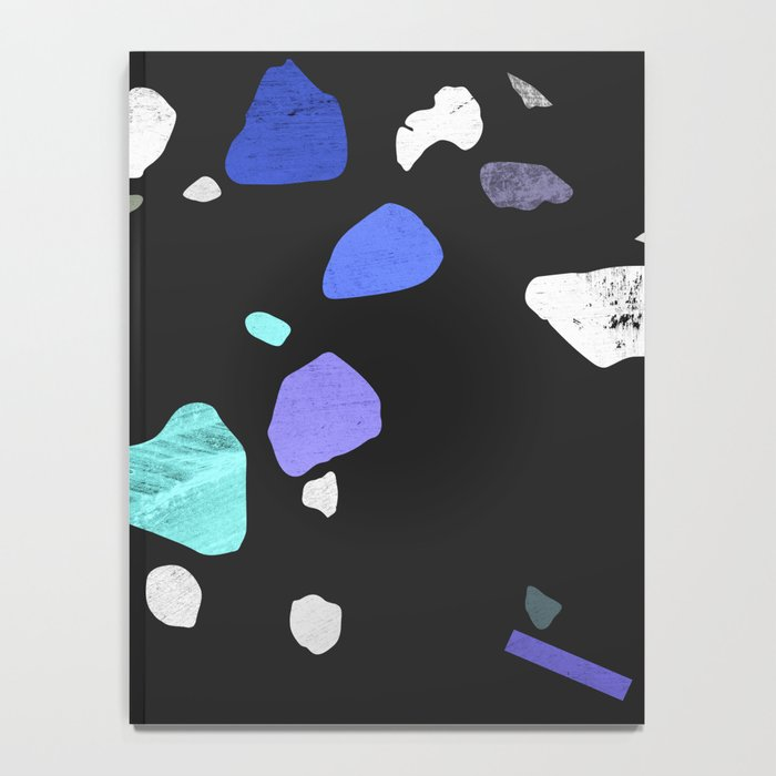painted terrazzo 2 Notebook