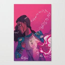 Casting Spells Canvas Print