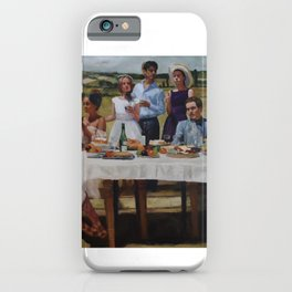 Friend's Table iPhone Case