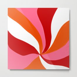 marlowe, pink & orange Metal Print