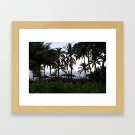 Hawaiis Backyard Framed Art Print