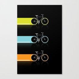 Light Bicycles Canvas Print