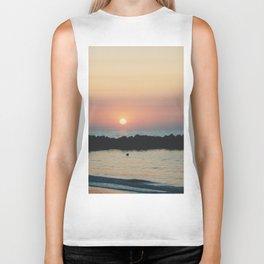 Sunset Ocean Bliss #3 #nature #art #society6 Biker Tank