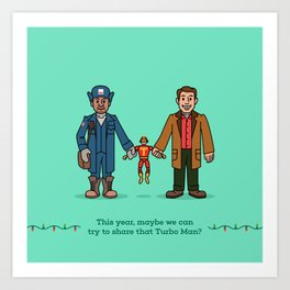 Myron and Howard Art Print