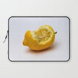 Keep smiling. Half eaten lemon Laptop Sleeve