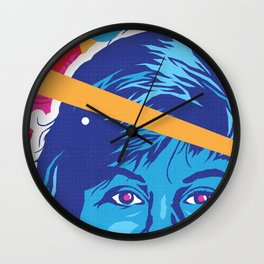 KELLY :: Memphis Design :: Saved By the Bell Series Wall Clock