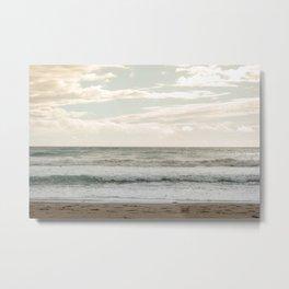 Agios Gordios beach at Corfu island, Greece Metal Print