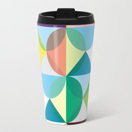 Geometric Pattern #102 (colourful pastels) Travel Mug