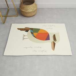 Laughing Kookaburra Rug