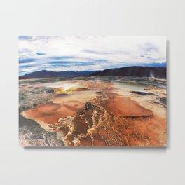 Mars On Earth Metal Print