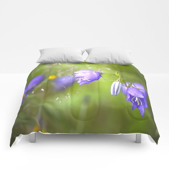 Bluebells in The Meadow  Comforters