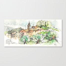 Navarrete, Camino de Santiago Canvas Print