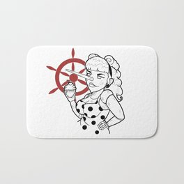 Pinocchio VS Pin-up Bath Mat