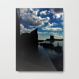 Inner Harbor Metal Print
