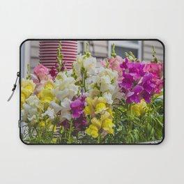 Summer Solstice Mix Snapdragons 4 Laptop Sleeve