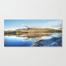 Skiddaw Reflections 2 Canvas Print