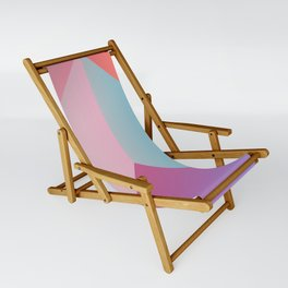 Ultra Geometric Sling Chair
