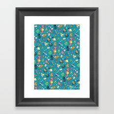 Dungeons & Patterns Framed Art Print