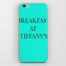 Breakfast at.. iPhone & iPod Skin