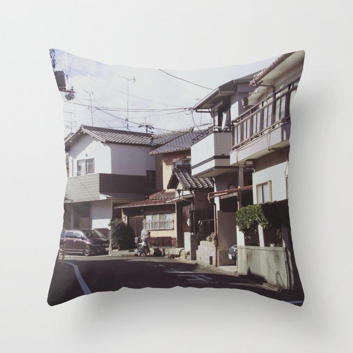 Turn left Throw Pillow