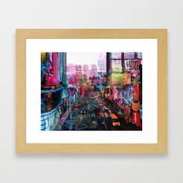 Sweet City Framed Art Print