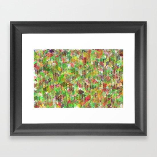 Panelscape - #6 society6 custom generation Framed Art Print