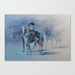Cowboy Jr II Canvas Print