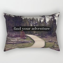 Find Your Adventure Rectangular Pillow