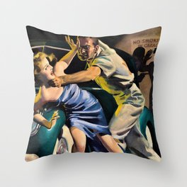 Hugh Joseph Ward - Private Detective Stories, pulp cover - Digital Remastered Edition Throw Pillow