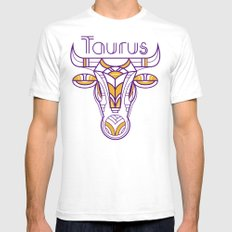 Deco Taurus SMALL Mens Fitted Tee White