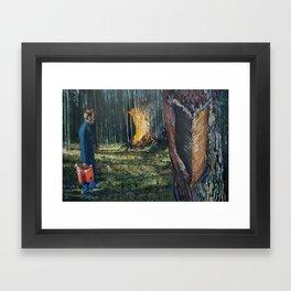 Take the Heat Framed Art Print