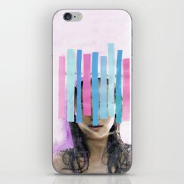 Trapped In My Thoughts iPhone Skin