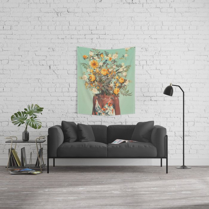 You Loved me a Thousand Summers ago Wall Tapestry
