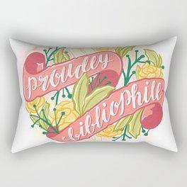PROUDLY BIBLIOPHILE Rectangular Pillow