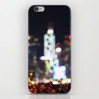 hong kong iPhone & iPod Skins featuring HONG KONG by Chernyshova Daryna