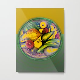 Fruits / Natural Food Metal Print