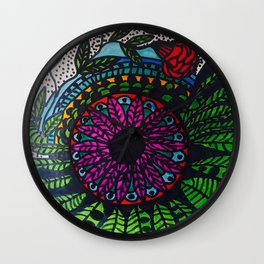 Ana Couper Paint Wall Clock