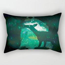 Snape and the Doe Rectangular Pillow